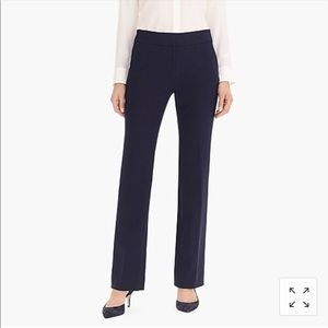 J. Crew Edie Navy Full Length Trouser Size 4
